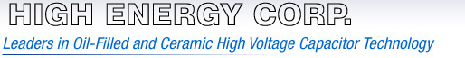 High Energy Corp. | Leaders in Oil-Filled and Cermic High Voltage Capacitor Technology