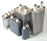 CC Series Oil-Filled Capacitors (Drawn Oval & Rectangular Cans)
